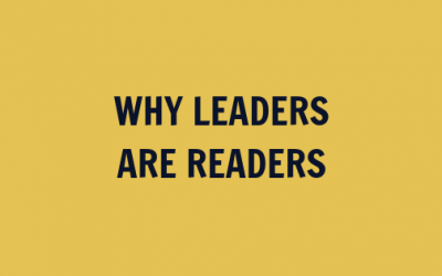 Why Leaders Are Readers [VIDEO]
