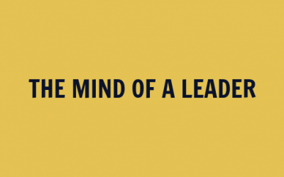 The Mind of a Leader [VIDEO]