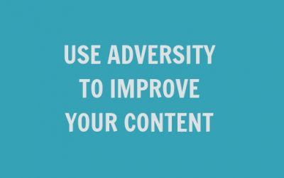Use Adversity to Improve Your Content {Take advantage of April showers}