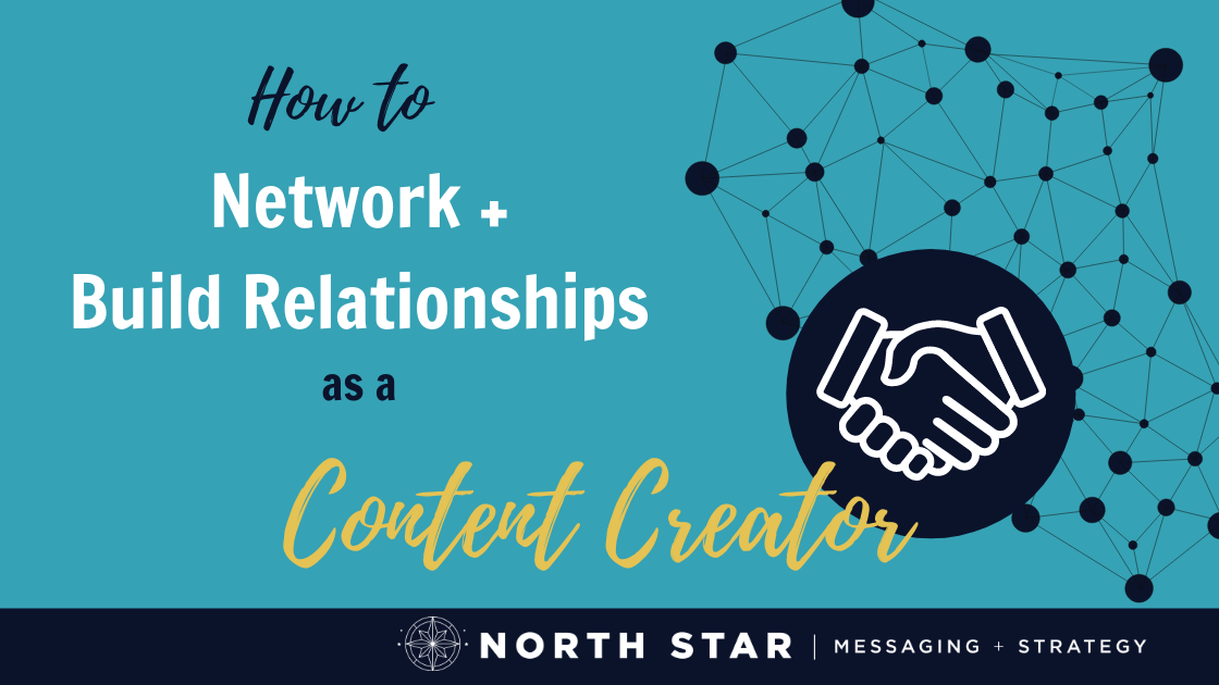 How To Network + Build Relationships As A Content Creator