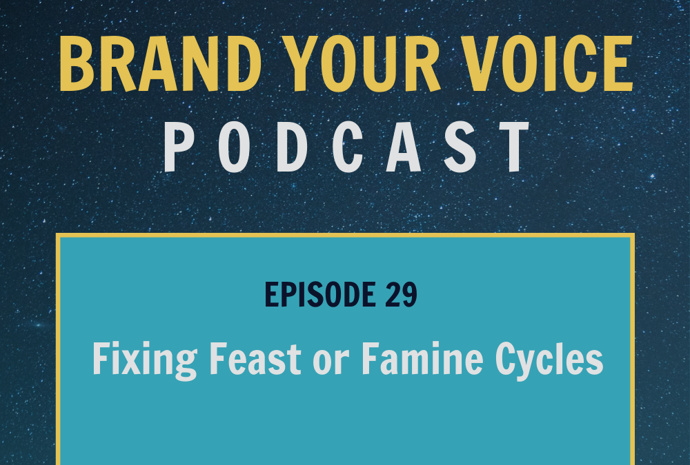 EPISODE 29: Fixing Feast or Famine Cycles